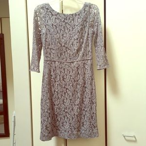 Natalia Dress in Leavers Lace J Crew size 6